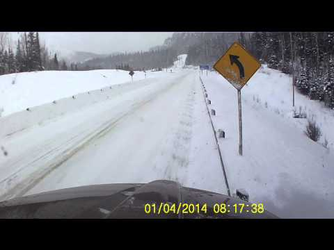 Semi Truck Accident January 4, 2014