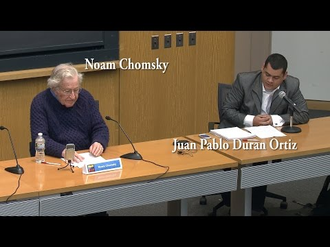 Noam Chomsky Q&A: Impacts of Free Market and US Foreign Policy Latin American revolution