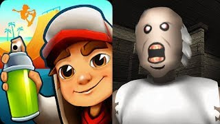 Subway Surfers vs Granny Roblox Horror Escape Game