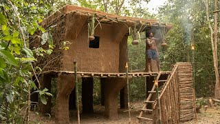 Building The Most Beautiful Enormous Mansion Modern Architecture by Clever Bushman