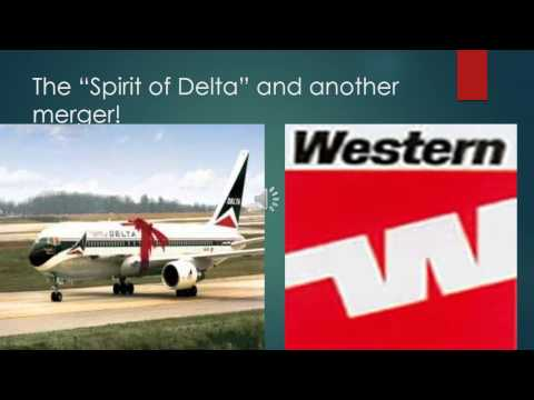 Delta Air Lines History PowerPoint Video