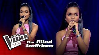 Dewni Guruge | Kandulu Hela  Blind Auditions | The Voice Teens Sri Lanka