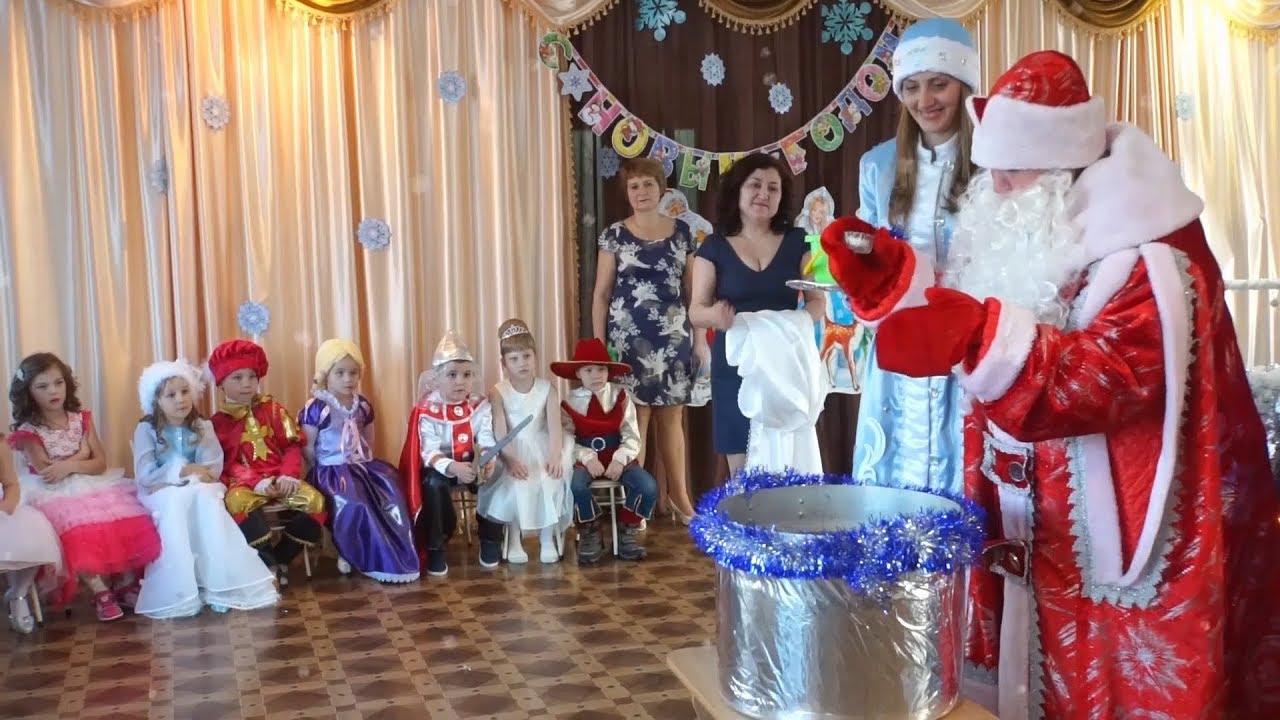 Сценария праздника новый год в детском саду