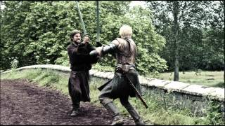 Jaime And Brienne Sword Fight - Book Version