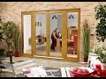 External Wooden French Doors With Side Panels