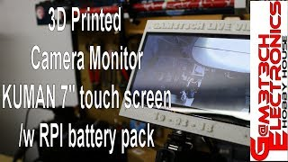 3D Printed Camera Monitor DIY Build EASY!