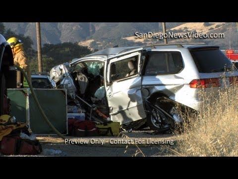 2 Children, 2 Adults Killed In Head-On Collison, Santa Ysabel