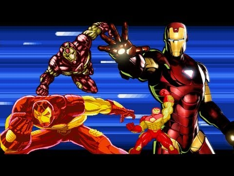 A Capcom Salute to Iron Man