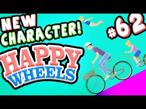 IRRESPONSIBLE MOM (New Character!) - Happy Wheels - Part 62