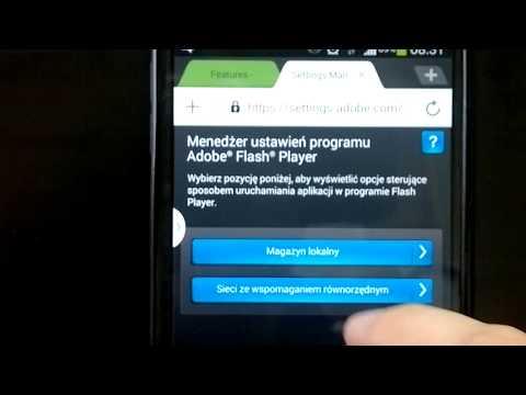 Instalacja Flash Player w smartfonie lub tablecie ANDROID 4.2.2. 4.3 - Note3 S3 S4 Galaxy