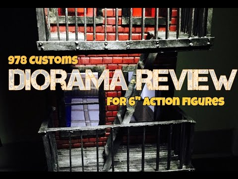 3 FLOOR Diorama REVIEW - for 6