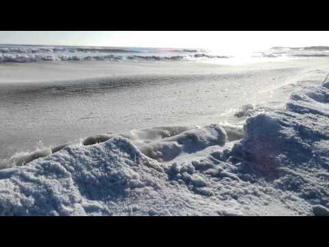 Slush Waves Martinique Beach 1