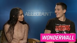 Zoe Kravitz teases Miles Teller about his penis size, says she wants bigger boobs