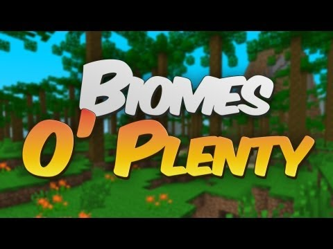 33 New Biomes! Biomes O' Plenty Cinematic Mod Showcase