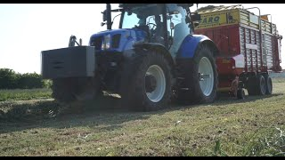 Sianokiszonka 2016 New Holland T6 175