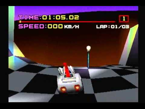 Motor Toon Grand Prix - Japan Release - (PS1)