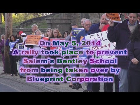 Salem Bentley School Rally -- Corporate School or Public School -- The Blueprint Corp Takeover