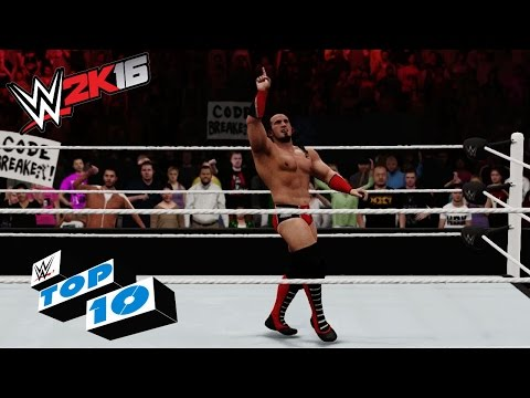 Stunning Moves from the Second-Rope: WWE 2K16 Top 10