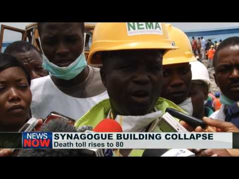 Death toll in Nigerian Synagogue Church collapsed building rises