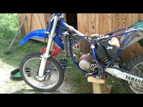 Yamaha Yz125 blown top end