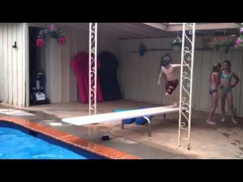 Shane diving