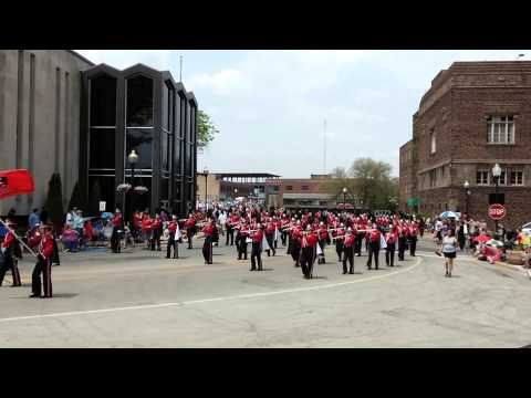 East Aurora High School Memorial Day Parade