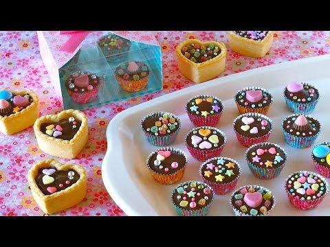 Chocolate Cups for Valentine's Day バレンタインの定番!豆乳カップチョコ (レシピ) - OCHIKERON - CREATE EAT HAPPY