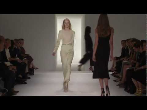 Calvin Klein Collection Women s Spring 2012 Runway Show