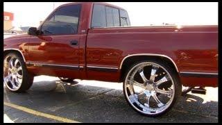 2014 Chevy Silverado On 28s