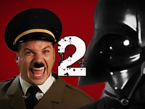 Hitler vs Vader 2.  Epic Rap Battles of History Season 2. Music Videos