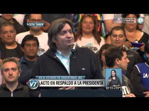 Visión 7 Acto en respaldo a la Presidenta