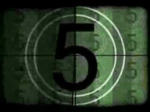Filmcountdown - Film Countdown Old Movie Style video