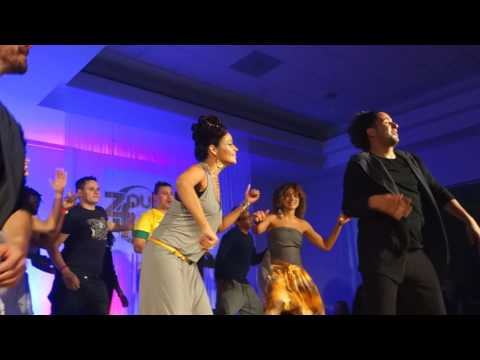 ZoukFest 2017 Pasty and Xandy leading the closing dance with All Artists ~ video by Zouk Soul