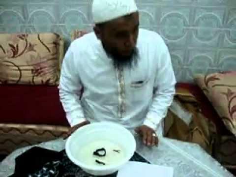 Cheikh Naim Rabiia détruit la sorcellerie en présence de 2 djin (démon)