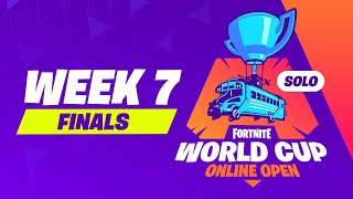 Fortnite World Cup - Week 7 Finals