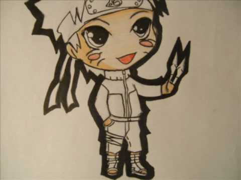How to Draw Chibi Naruto (Shippuden)