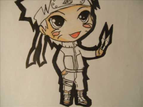 how to draw chibi naruto shippuden youtube