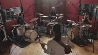 The Guru Bass vs. Drums challenge with Yolanda Charles.