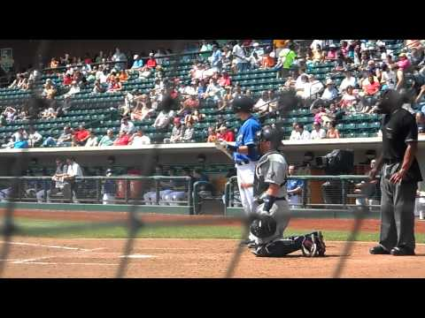 Columbus Clippers Lonnie Chisenhall Base Hit Off Chien-Ming Wang 5/21/2013