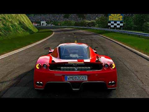 Project CARS 2 - Gameplay Ferrari Enzo @ Rouen Les Essarts [4K 60FPS ULTRA]