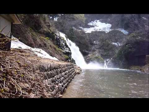 銀山温泉、白銀の滝/源 住泰