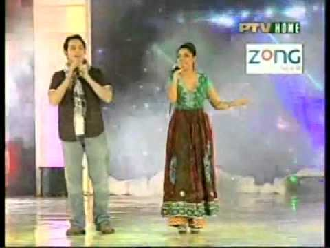 Hadiqa Kaini And Irfan Khan Jaanan Pashto Song Tv Award 2010 video