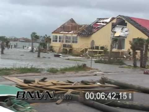 7/10/2005 Hurricane Dennis Video Part 17, Aftermath from, Navarre Beach to Pensacola, FL