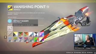 Rarest Sparrow in Destiny 2 Bright Engram REACTION LIVE