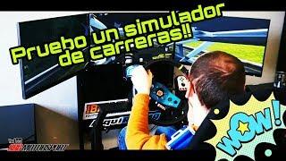 Pruebo un Simulador de Carreras y un BMW X2! | SBG Motorsport