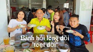 Food For Good #400: Dồi chiên bánh hỏi lòng heo Quỳnh Phú Long không thể chỉ ăn 1 dĩa ?