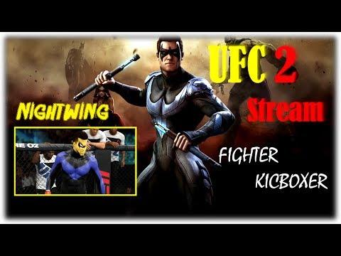 UFC 2 Kicboxer Боец в Легком весе Nightwing Возвращение Легенды (Бокс,Кикбоксер,Muay Thai,Тхэквондо)