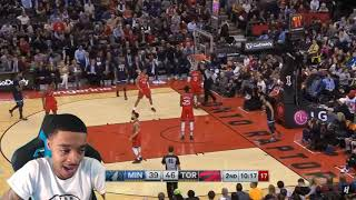 D'Angelo Russell Debut! FlightReacts Minnesota Timberwolves vs Toronto Raptors - Full Highlights!