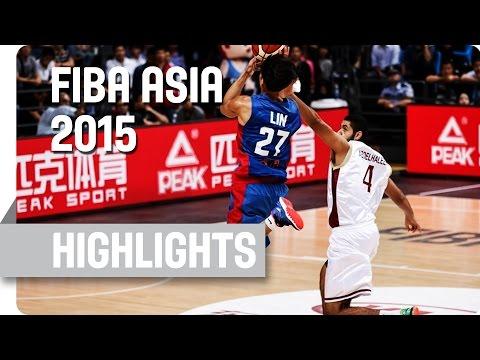 Qatar v Chinese Taipei - Group D - Game Highlights - 2015 FIBA Asia Championship