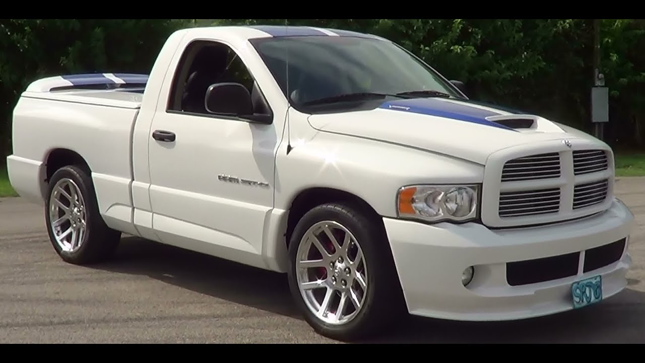2005 Dodge Srt 10 Supercharged Viper Truck Youtube
